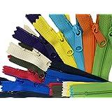 """ZipperStop Distributor YKK ZipperStop Wholesale Authorized Distributor YKK® Sale 14"""" Handbag Zipper Assorted Season Colors YK"""