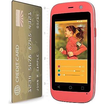 "POSH Micro X S240b - 2.4"", 4G, Android 4.4 Kit Kat, Dual-core, 4GB , 2MP Camera, Ultra Compact, Micro-size UNLOCKED Smartphone (Pink) by Posh Mobile [並行輸入品]"