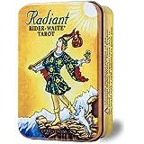 タロットカード 78枚 ライダー版 タロット占い 【 ラディアント ライダー・ウェイト タロット (缶入り) Radiant Rider-Waite in a Tin 】日本語解説書付き [正規品]