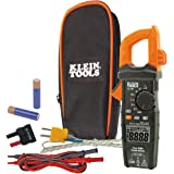 Digital Clamp Meter AC Auto-Ranging LoZ, (TRMS) technology for increased accuracy, Klein Tools CL700