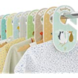 Baby Closet Dividers - 18 Wardrobe Organisers/Hangers - Arrange Clothes by Garment Type or Age - Best Baby Shower Gift Set fo
