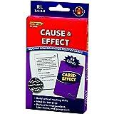 Edupress Reading Comprehension Practice Cards, Cause & Effect, Blue Level (EP63068)