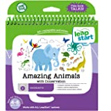 LeapFrog LeapStart Kindergarten Book: Amazing Animals with Conservation