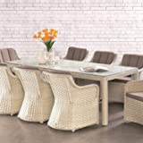 OSMEN Outdoor Patio Furniture - Elizabeth Dining Table 230 x 100cm - Outdoor Use Garden Backyard Balcony Table All Weather Sy