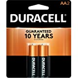 Duracell AAA Copper Top Alkaline Batteries (Pack of 2)