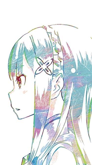 Re:ゼロから始める異世界生活  iPhone/Androidスマホ壁紙(640×1136)-1 - エミリア
