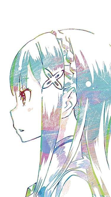 Re:ゼロから始める異世界生活  iPhone/Androidスマホ壁紙(750×1334)-1 - エミリア