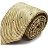 MICHIKO LONDON(ミチコロンドン) ブランドネクタイ 日本製 西陣織 シルク100% ジャガード織 スクエア小紋