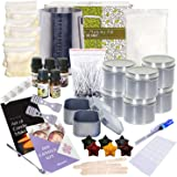 DIY Scented Professional Candle making Kit – 70 Piece Set | Creates Over 14 Premium Candles – 5 Pure Fragrances |Includes Mas