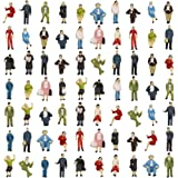 Evemodel P8717 72pcs HO Scale 1:87 Seated and Standing People Figures Passengers New