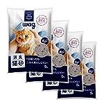 [Amazonブランド]Wag 消臭猫砂 5Lx4袋