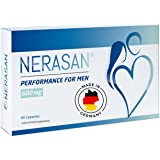 Nerasan 男性用サプリメント パフォーマンス改善 副作用なし サフラン (60錠, 1ヶ月)