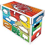 (1) BCW Art POW! Short Comic Storage Box - Holds 150-175 Comics - BCW-BX-SHORT-ART-POW