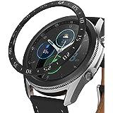 【Ringke】Galaxy Watch 3 45mm ケース ギャラクシーウォッチ3 45mm ケース ステンレス製 バンパー カスタム 保護 フレーム メタリック [Bezel Styling Black 45-03 Black ブラック]
