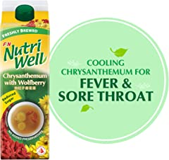 NutriWell Chrysanthemum with Wolfberry Drink, 1L - Chilled