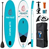 10'6'' Inflatable Stand Up Paddle Board,Sup Paddle Board with All Premium SUP Accessories & Adjustable Paddle,Fin, Leash, Han