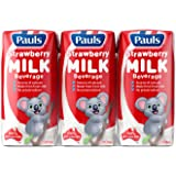 PAULS Strawberry Milk, 200ml (Pack of 6)