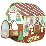 Homfu Play Tent for Kids for Indoor Outdoor Playhouse Boys Girls Child Gift Gingerbread House …