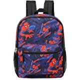 """Spiderman Marvel All Over Print Full Size 16"""" Backpack"""