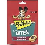 Schmackos Tasty Bites Chewy Beef Dog Treats, 6x155g Bag, Puppy/Adult/Senior, Small/Medium/Large