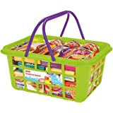 Casdon 628 Shopping Basket Roleplay,Green/Purple