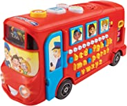 VTech Baby Playtime Bus with Phonics, Red