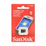 SanDisk 32GB Mobile MicroSDHC Class 4 Flash Memory Card With Adapter- SDSDQM-032G-B35(RETAIL PACKAGING)