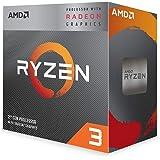 AMD Ryzen 3 3200G with Wraith Stealth cooler 3.6GHz 4コア / 4スレッド 65W YD3200C5FHBOX 三年保証 [並行輸入品]