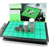 【2020年モデル】マグネット付き リバーシ 折り畳みボード テーブル ゲームセット コンパクト収納 持ち運びに便利 GIFT BOX付