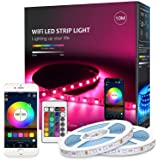 MagicLight LED Strip Lights, WiFi Wireless Smart Phone Controlled Light Strip Kit 16.4ft 150leds 5050 Waterproof IP65 LED Lig