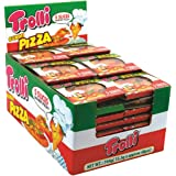 Trolli Pizza 15.5g - 48 Pack Gummy Sweets - Candy Buffet - Party Favor Bags - Boxes Bulk Lollies