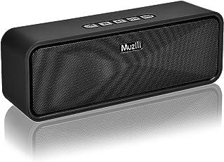 HolyHigh Bluetoothスピーカー ワイヤレススピーカー Bluetooth4.0 ポータブルスピーカー 12時間連続再生 低音強化 ブルートゥーススピーカー コンパクト