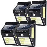 【最新版120LED】Focondot センサーライト ソーラーライト 120LED 3面発光 屋外照明 人感センサー…