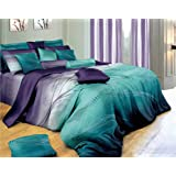 Vitara Quilt Cover Set, 3 Piece Duvet Cover Set Includes 2 Pillowcases, Doona Cover Set (Queen Size)