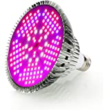 100W LED Grow Light Bulbs Full Spectrum,150 LEDs Indoor Plant Growing Lights Lamp for Vegetable Greenhouse Hydroponic, E26 In