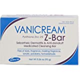 Vanicream Z-Bar | Medicated Cleansing Bar for Sensitive Skin | Maximum OTC Strength Zinc Pyrithione 2% | Helps Relieve Itchin