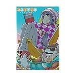 ゆるキャン△ iPhoneSE/5s/5c/5(640×1136)壁紙 志摩リン , ちくわ