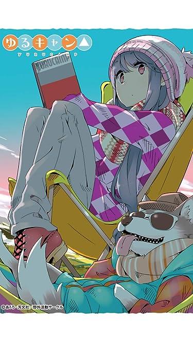 ゆるキャン△  iPhone/Androidスマホ壁紙(640×1136)-1 - 志摩リン , ちくわ