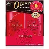 TSUBAKI(ツバキ) プレミアムモイスト 体感セット みずみずしいフローラルフルーティーの香り (シャンプー&コンディショナー) 490g×2 490mL + 490mL