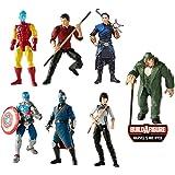 Hasbro Marvel Legends Shang-Chi Series Wave - 6 inch Action Figures Bundle (Mr. Hyde BAF)