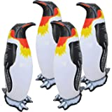 """Jet Creations Inflatable Animals Penguin 20"""" Tall Best for Party Pool Supplies Favors Birthday Gifts for Kids and Adults an-P"""