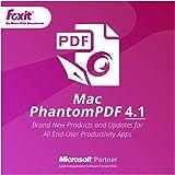 Foxit Phantom PDF Mac 4(日本語版)|ダウンロード版