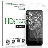 amFilm Galaxy S20 Ultra Screen Protector (2 Pack), Case Friendly (Fingerprint Scanner Compatible) HD Clear Elastic Skin TPU F