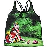 Disney Junior's Alice in Wonderland Queen of Hearts Racer-Back Tank Top