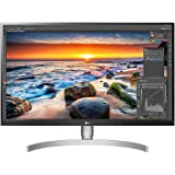 LG 27UL850-W 27 Inch UHD 4K IPS Monitor, 5ms (GTG), HDMI, USB-C, HDR, Screen Split, Ergonomic Stand, Speaker, White