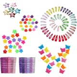 Butterfly Hair Clips 164pcs with Bobby Pins Decorative and Mini Hair Claw Clip Hair Bangs Barrettes for Baby Girls Toddlers K