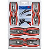 Knipex 00 20 04 SB Precision Circlip Pliers Set (Blister Packed)