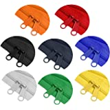 (80cm, Mixed 8 Colors) - Zipperstop Wholesale - Double Slide Zipper YKK 4.5 Coil with Two Long Pull Head to Head Closed Ended