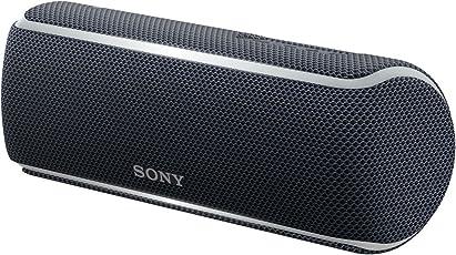 ソニー SONY ワイヤレスポータブルスピーカー SRS-XB21 : 防水/防塵/防錆/Bluetooth/専用スマホアプリ対応 ライティング機能搭載 2018年モデル ブラック