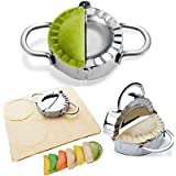 BellaBetty Dumpling Maker - Dumpling Press/Stainless Steel Empanada Press/Pie Ravioli Dumpling Wrappers Mold Kitchen Accessor